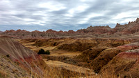 Badlands National Park, SD 1-Dec-16